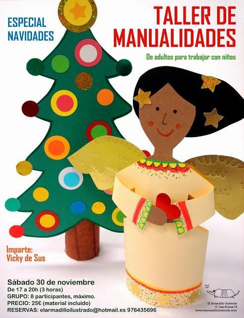Taller de manualidades especial navidad paperblog - Talleres manualidades para adultos ...
