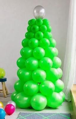 Adornos de navidad hechos con globos paperblog - Adornos navidenos hechos en casa ...