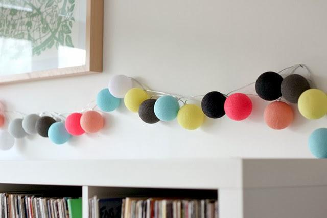 Una tienda llena de guirnaldas de bolas bonitas - Paperblog - photo#30