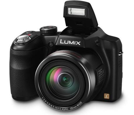 Panasonic Lumix DMC-LZ30 frontal