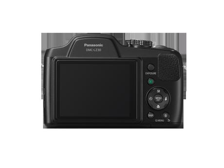 Panasonic Lumix DMC-LZ30 pantalla
