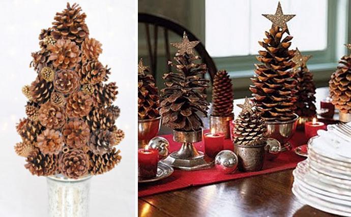 Decora la navidad con pi as paperblog - Pinas de navidad adornos ...