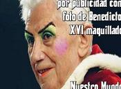 Polémica Italia publicidad foto Benedicto maquillado