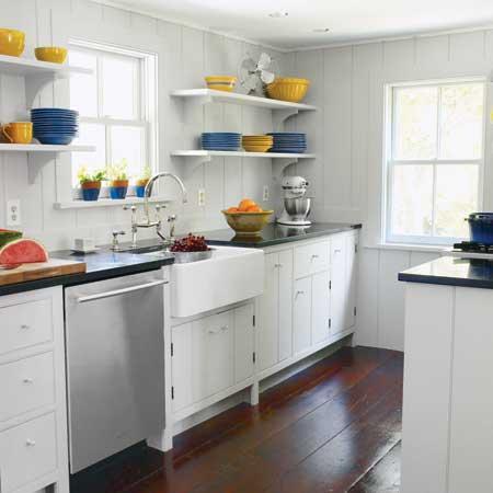 cocinas galeras para espacios reducidos
