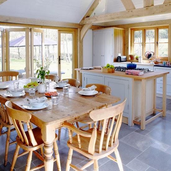 Small Homes Decorating Ideas Small Country Cottage House: Visitamos Una Casa Estilo Country