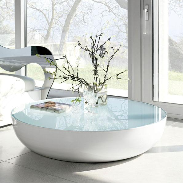 Mesas de centro y de dise o moderno exclusivas para tu - Mesas redondas de diseno ...