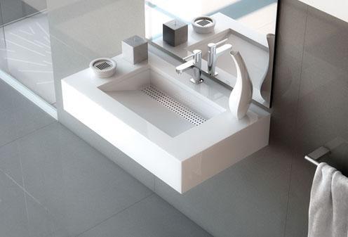 Simplicity, un lavabo de baño moderno y singular - Paperblog