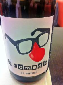 La Comedia 2012, su vino más joven y divertido