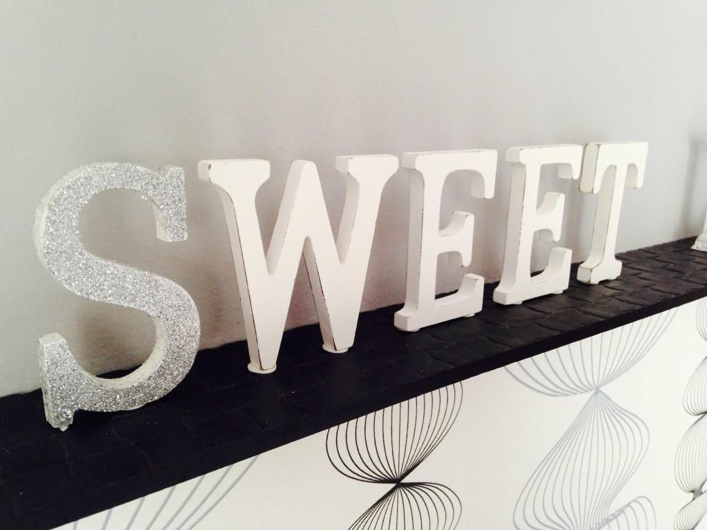 Diy como decorar letras de madera tu mismo con muy pocos materiales paperblog - Letras de madera para decorar ...