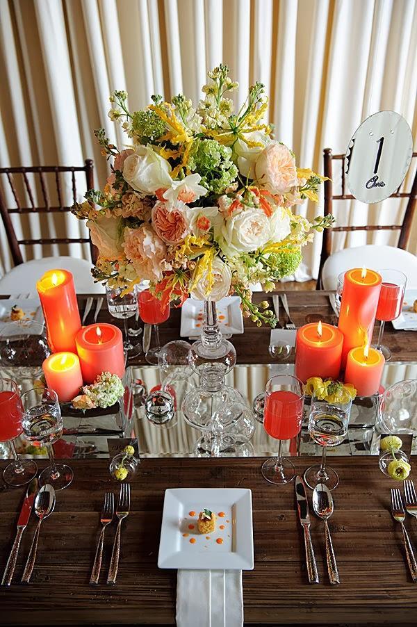 Espejos para decorar tu mesa paperblog for Espejos para mesa