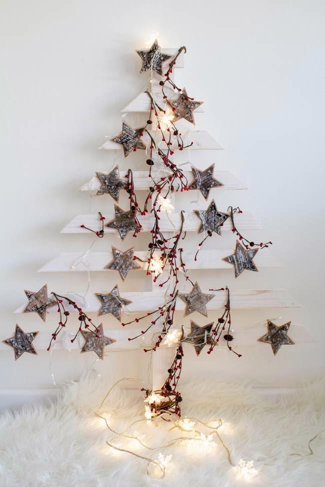 Diy rbol de navidad de madera video paperblog - Arboles de navidad de madera ...