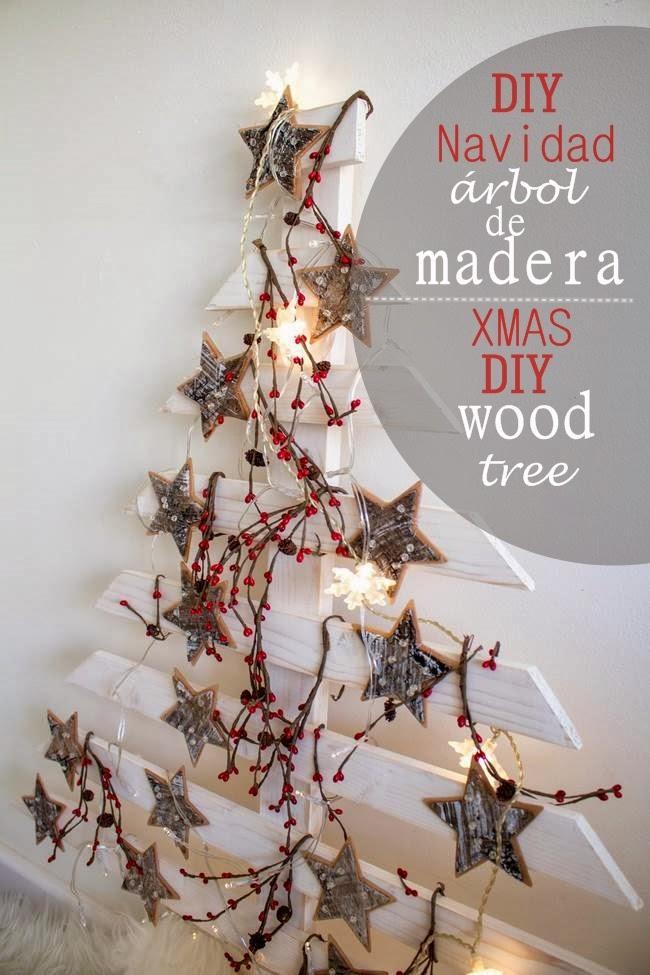 Rbol de navidad de madera comprimida aunque yo he pensado - Arboles de navidad de madera ...
