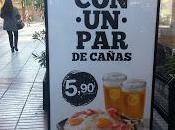 Publicidad cerveza límite gusto