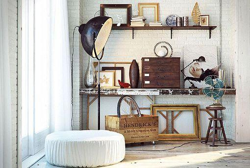 Habitaciones vintage para hombres paperblog for Habitacion de hombres decoracion