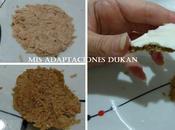 Mini tostas atún