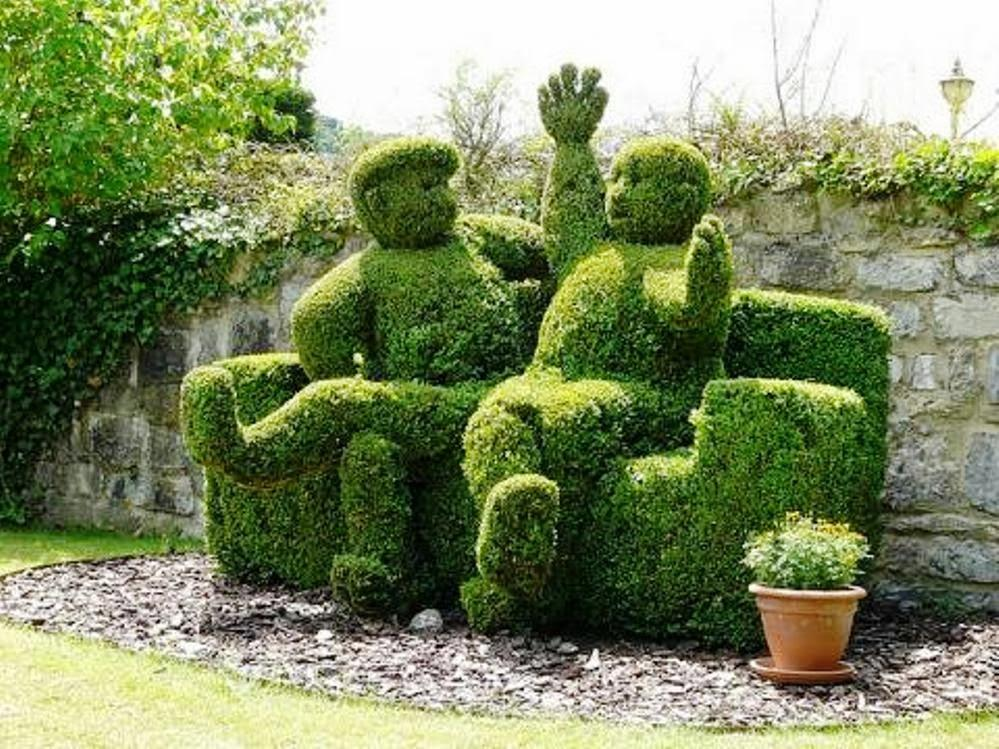 Jardines con figuras de animales y de paperblog - Cosas para jardin ...