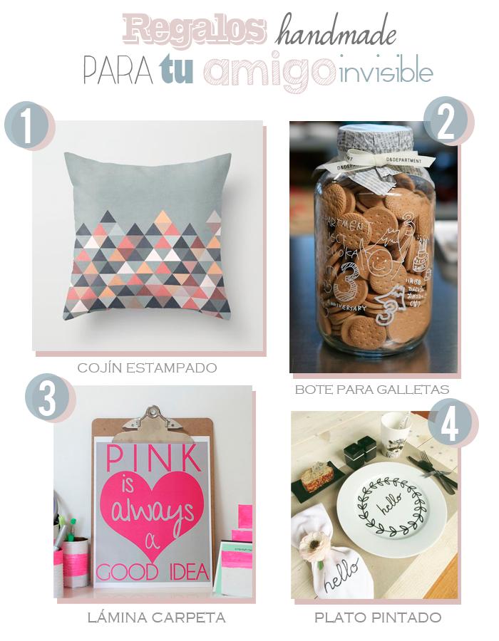 8 regalos handmade para tu amigo invisible paperblog for Regalos caseros para amigas