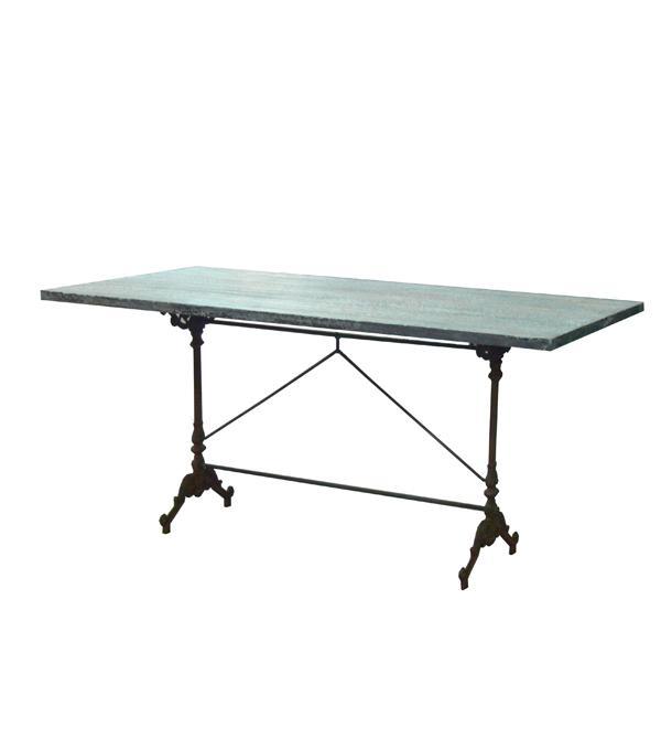 Mesas de forja de exterior y hierro colado paperblog for Mesas de hierro forjado y madera