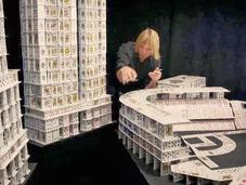 Construye mundo baraja póker
