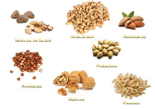 Que frutos secos son saludables