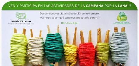 Semana de la lana y un tejedor amateur por una buena causa