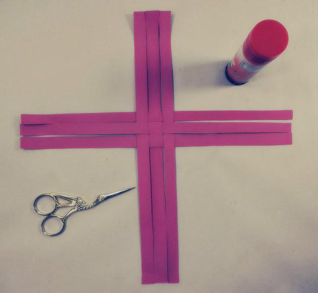 Diy adorno de navidad copo de papel paperblog - Adornos de navidad con cartulina ...