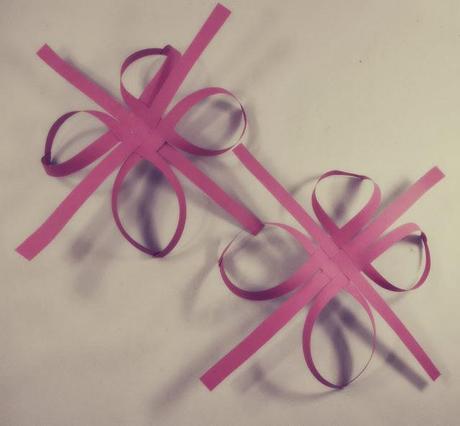 Diy ... Adorno de Navidad : Copo de Papel