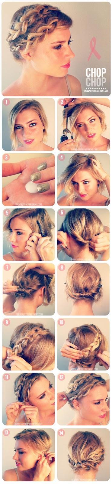 5 tutoriales para peinados de fiesta estas navidades - Tutorial de peinados ...