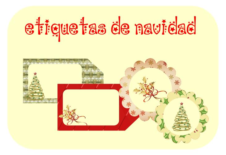 Imprimibles Navidad. Etiquetas Regalos De Navidad Para Imprimir ...