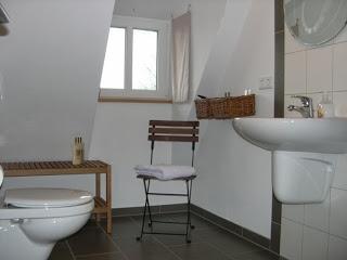 Baño debajo la escalera