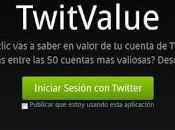 Aplicación TwitValue VIRUS