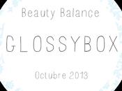 """Glossybox """"Beauty Balance"""" octubre 2013 (Oktoberfest)"""