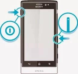 reset sony xperia T