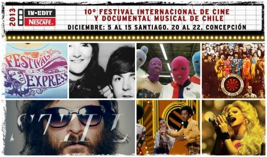 In-Edit Nescafé: 10° Festival Internacional de Cine y Documental Musical de Chile