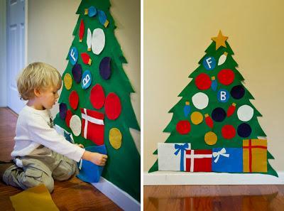 Idea un rbol de navidad para nios Paperblog