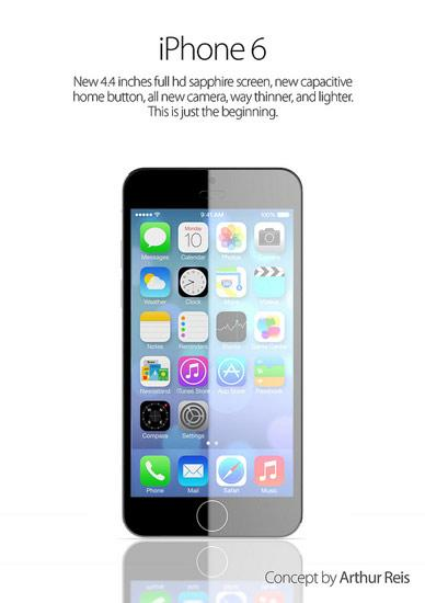 Diseño del iPhone 6