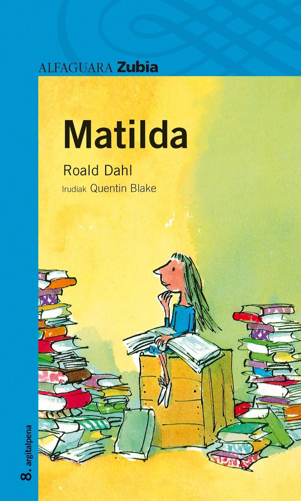 essays on matilda by roald dahl Another book, 'matilda' is the second of my and characters will always live on roald dahl will always be my favourite author order related essays.