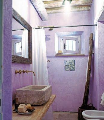 Hermosos ba os color violeta paperblog - Camera da letto glicine ...