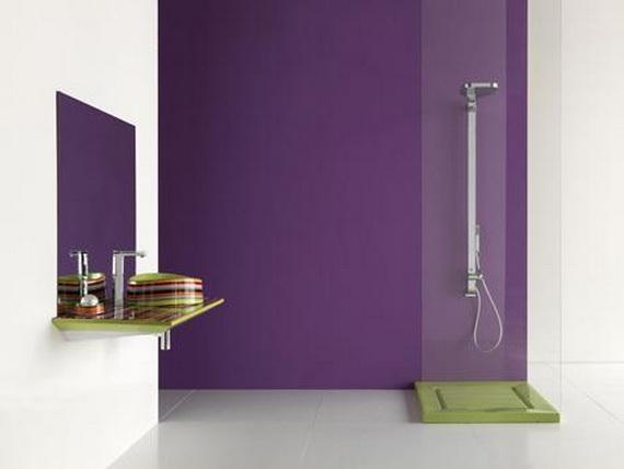 Baños Hermosos Fotos:Hermosos baños color violeta – Paperblog