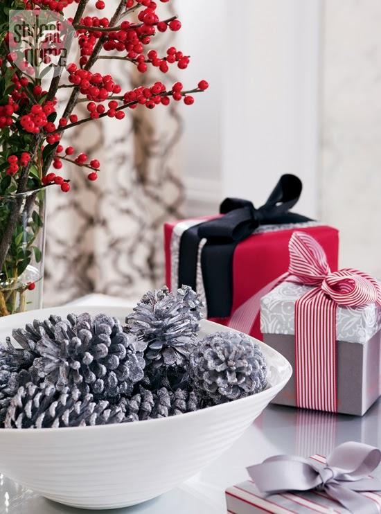 Decoracion en negro blanco y rojo para una casa - Decoracion blanco negro rojo ...