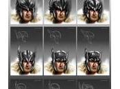Diseños conceptuales para Tres Guerreros, casco Thor Encantadora? (2011)