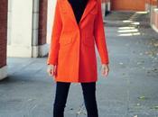 Tendencia: abrigo naranja