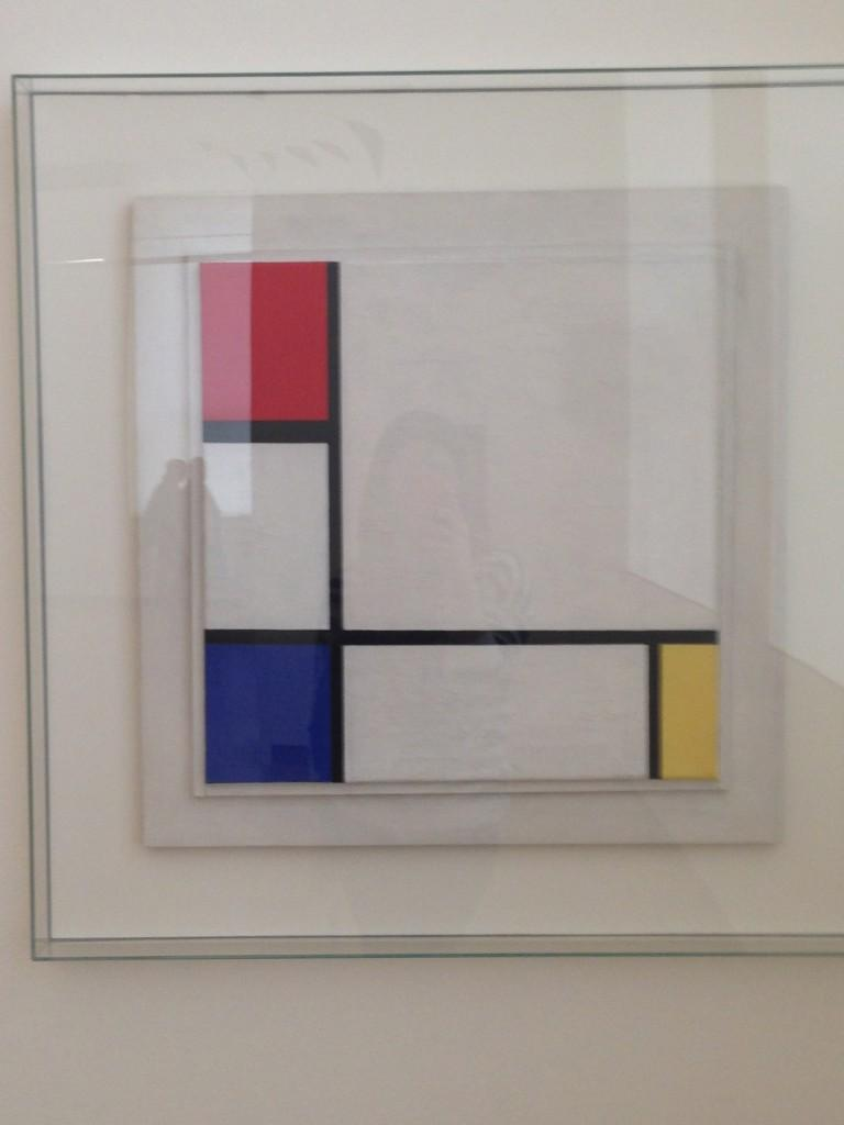 Piet Mondrian Composition No. IV, with red, blue and yellow, 1929 Oleo sobre lienzo