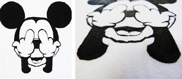 DIY] Polera estampada Mickey - Paperblog
