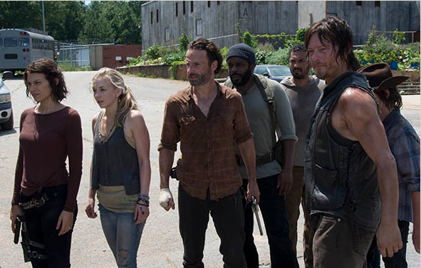 The Walking Dead temporada 4: episodio 8, ¿Michonne y Hershel secuestrados?