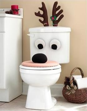 Decoraci n inodoros por navidad video paperblog - Juegos de adornar casas de navidad ...