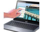 Acer anuncia primer Chromebook pantalla táctil