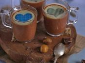 POSTRE PARA NAVIDAD: Pots chocolate castañas