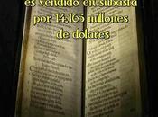 libro Salmos 1640 vendido subasta 14,165 millones dólares