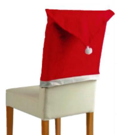 Fundas para sillas de navidad video paperblog - Como hacer fundas para sillas de comedor ...
